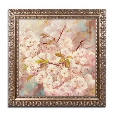 Trademark Fine Art Li Bo 'Rose Bush I' 16 x 16 (ALI0758-G1616F)