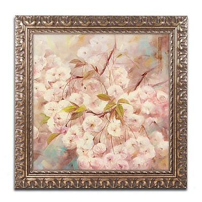 Trademark Fine Art Li Bo 'Rose Bush I' 11 x 11 (ALI0758-G1111F)