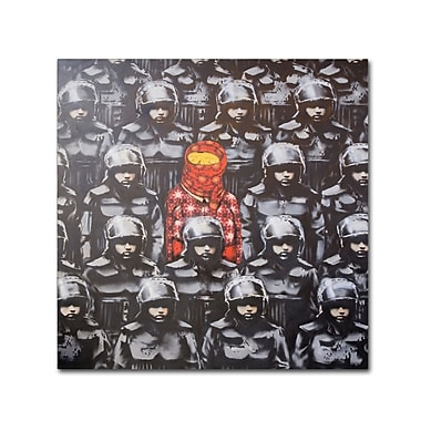 Trademark Fine Art Banksy '24th Street 2' 35 x 35 (ALI0799-C3535GG)