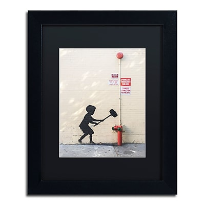 Trademark Fine Art Banksy 'Better Out Than In' 11 x 14 (886511714205)