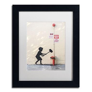 Trademark Fine Art Banksy 'Better Out Than In' 11 x 14 (ALI0800-B1114MF)