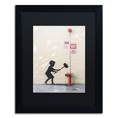Trademark Fine Art Banksy 'Better Out Than In' 16 x 20 (886511714229)