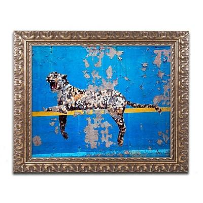 Trademark Global Banksy 'Bronx Zoo' Ornate Framed Art, 16