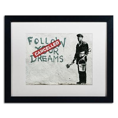 Trademark Fine Art Banksy 'Cancelled Dreams' 16 x 20 (ALI0802-B1620MF)