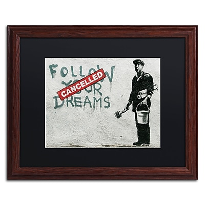 Trademark Fine Art Banksy 'Cancelled Dreams' 16 x 20 (886511714649)