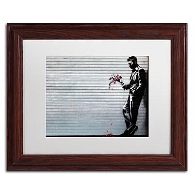 Trademark Fine Art Banksy 'Hustler Club' 11 x 14 (ALI0804-W1114MF)