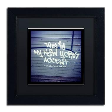 Trademark Fine Art Banksy 'My New York Min' 11 x 11 (886511715141)