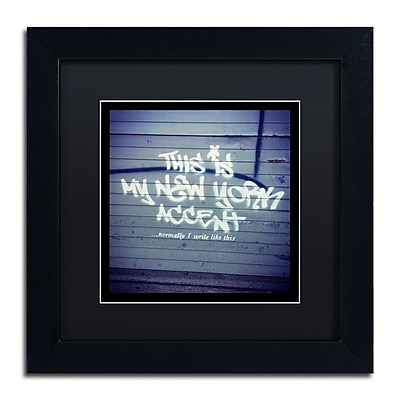 Trademark Fine Art Banksy 'My New York Min' 11 x 11 (886511715141)