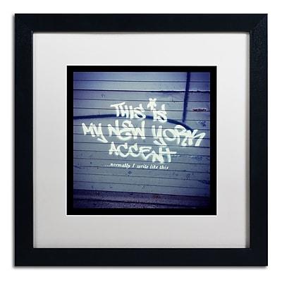 Trademark Fine Art Banksy 'My New York Min' 16 x 16 (ALI0806-B1616MF)