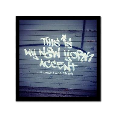 Trademark Fine Art Banksy 'My New York Min' 18 x 18 (ALI0806-C1818GG)