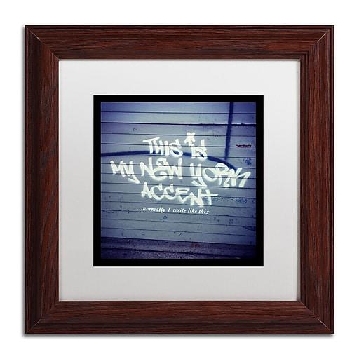 Trademark Fine Art Banksy 'My New York Min'  11 x 11 (ALI0806-W1111MF)