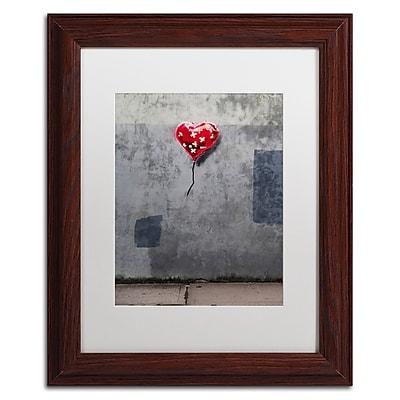 Trademark Fine Art Banksy 'NYC Love' 11 x 14 (ALI0808-W1114MF)