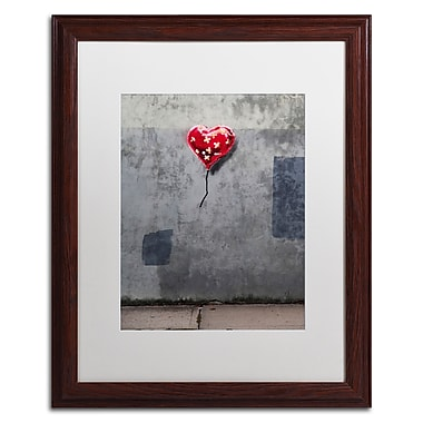 Trademark Fine Art Banksy 'NYC Love' 16 x 20 (ALI0808-W1620MF)