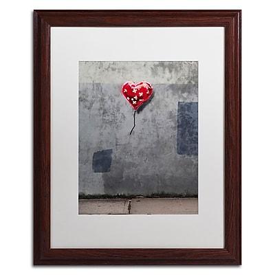 Trademark Fine Art Banksy 'NYC Love' 16 x 20 (ALI0808-W1620MF)