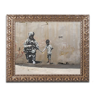 Trademark Global Banksy 'Peace' 16