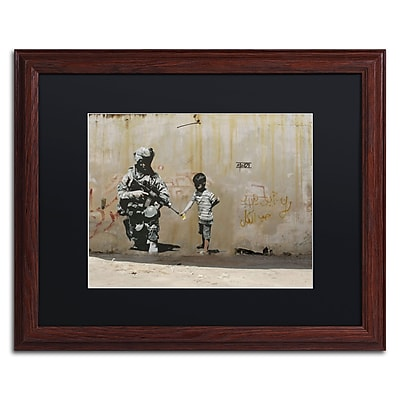 Trademark Fine Art Banksy 'Peace' 16 x 20 (886511715721)