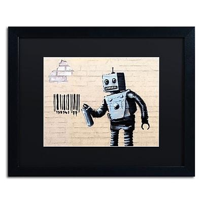 Trademark Fine Art Banksy 'Robot' 16 x 20 (886511715929)