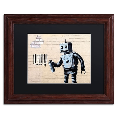 Trademark Fine Art Banksy 'Robot' 11 x 14 (886511716025)