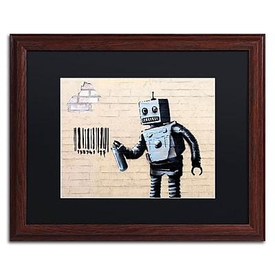 Trademark Fine Art Banksy 'Robot' 16 x 20 (886511716049)