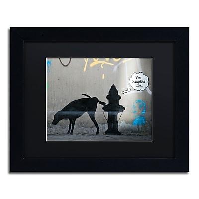 Trademark Fine Art Banksy 'You Complete Me' 11 x 14 (886511716544)