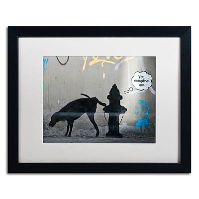 Trademark Fine Art Banksy 'You Complete Me' 16 x 20 (ALI0815-B1620MF)