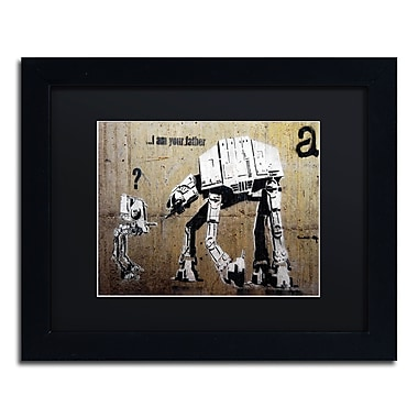Trademark Fine Art Banksy 'Your Father' 11 x 14 (886511716681)