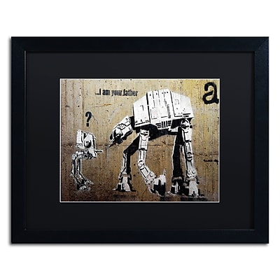 Trademark Fine Art Banksy 'Your Father' 16 x 20 (886511716704)