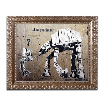 Trademark Global Banksy 'Your Father' 16