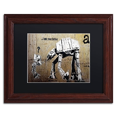Trademark Fine Art Banksy 'Your Father' 11 x 14 (886511716803)