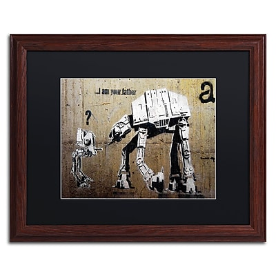 Trademark Fine Art Banksy 'Your Father' 16 x 20 (886511716827)