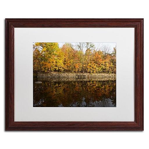 Trademark Fine Art Kurt Shaffer 'Autumn Along the Rocky River'  16 x 20 (KS01017-W1620MF)