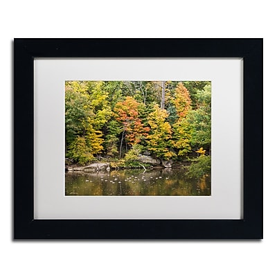 Trademark Fine Art Kurt Shaffer 'Early Fall' 11 x 14 (KS01031-B1114MF)