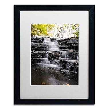Trademark Fine Art Kurt Shaffer 'Waterfall at Lake View' 16 x 20 (KS01051-B1620MF)