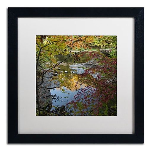 Trademark Fine Art Kurt Shaffer 'Why I Love Autumn 3'  16 x 16 (KS01053-B1616MF)