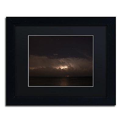 Trademark Fine Art Kurt Shaffer 'Big Dipper Thunderstorm' 11 x 14 (886511704824)