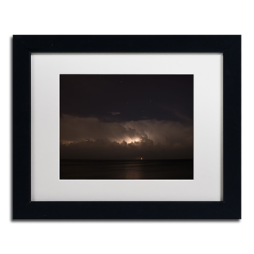 Trademark Fine Art Kurt Shaffer 'Big Dipper Thunderstorm'  11 x 14 (KS01058-B1114MF)