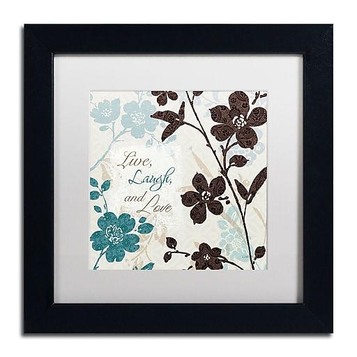 Trademark Fine Art Lisa Audit 'Botanical Touch Quote II'  11 x 11 (WAP0175-B1111MF)
