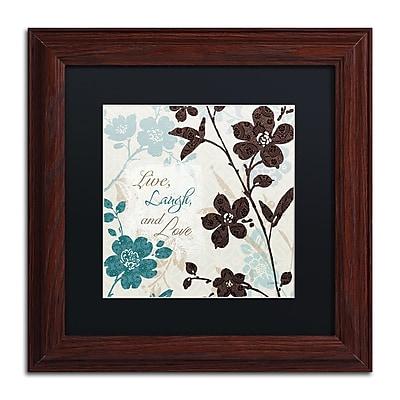 Trademark Fine Art Lisa Audit 'Botanical Touch Quote II' 11 x 11 (886511706330)