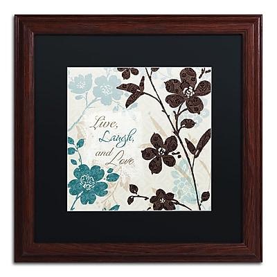 Trademark Fine Art Lisa Audit 'Botanical Touch Quote II' 16 x 16 (886511706354)