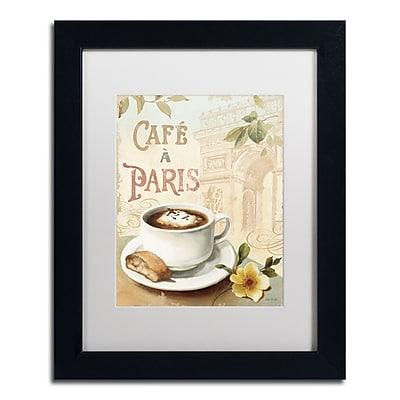 Trademark Fine Art Lisa Audit 'Cafe in Europe I' 11 x 14 (WAP0187-B1114MF)