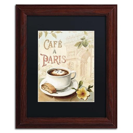 Trademark Fine Art Lisa Audit 'Cafe in Europe I'  11 x 14 (886511707214)