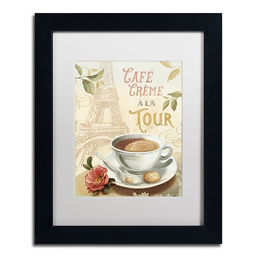 Trademark Fine Art Lisa Audit 'Cafe in Europe II'  11 x 14 (WAP0188-B1114MF)