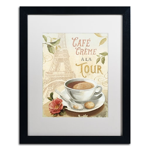 Trademark Fine Art Lisa Audit 'Cafe in Europe II'  16 x 20 (WAP0188-B1620MF)