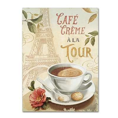 Trademark Fine Art Lisa Audit 'Cafe in Europe II' 18 x 24 (WAP0188-C1824GG)