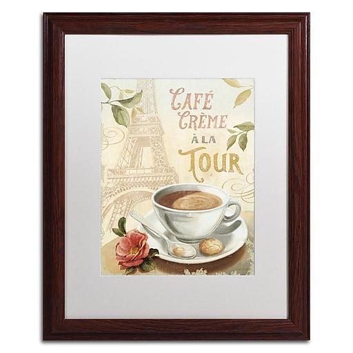 Trademark Fine Art Lisa Audit 'Cafe in Europe II'  16 x 20 (WAP0188-W1620MF)