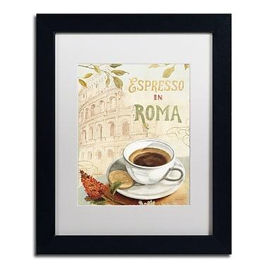 Trademark Fine Art Lisa Audit 'Cafe in Europe III' 11 x 14 (WAP0189-B1114MF)