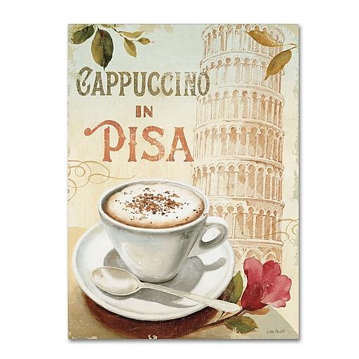Trademark Fine Art Lisa Audit 'Cafe in Europe IV'  24 x 32 (WAP0190-C2432GG)