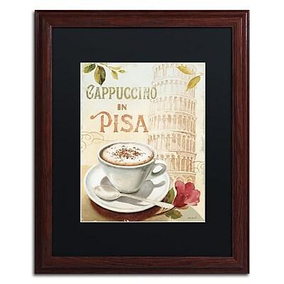 Trademark Fine Art Lisa Audit 'Cafe in Europe IV' 16 x 20 (886511707504)