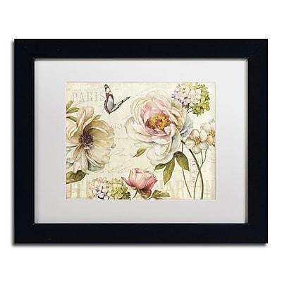 Trademark Fine Art Lisa Audit 'Marche de Fleurs IV' 11 x 14 (WAP0191-B1114MF)