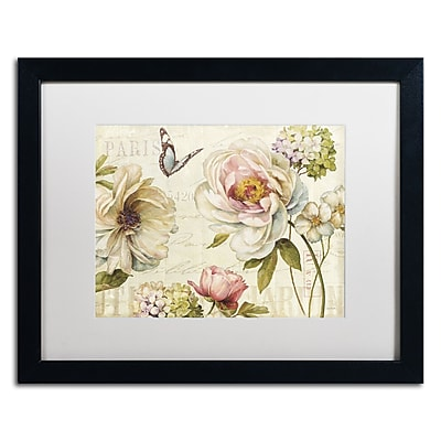 Trademark Fine Art Lisa Audit 'Marche de Fleurs IV' 16 x 20 (WAP0191-B1620MF)